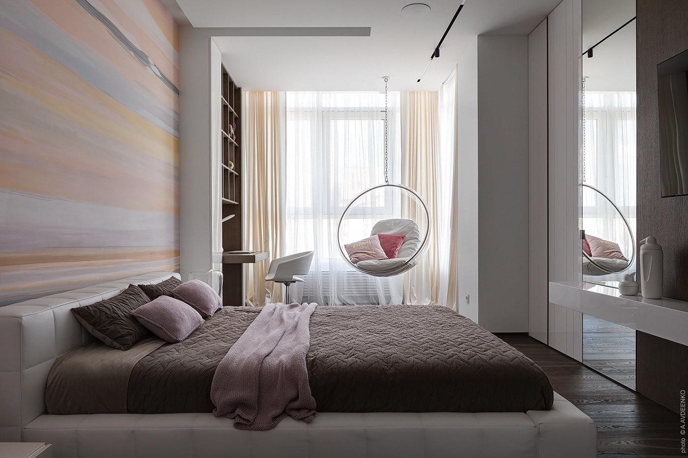 A lakásban egy vendégszobának is jutott hely