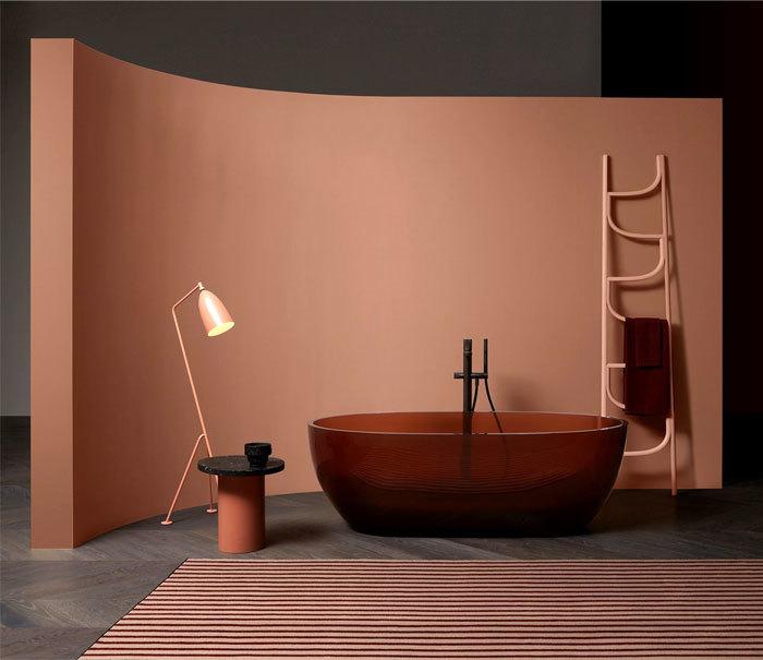 Antonio Lupi fürdőkád reflex