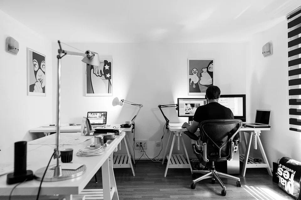 Külön szobában home office
