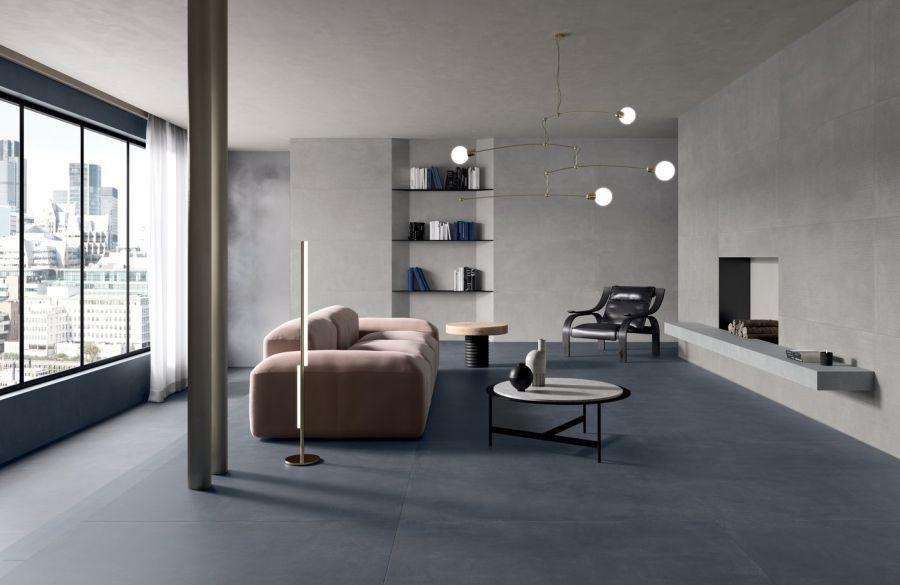 Marca Corona Stonecloud kék padlóburkolat