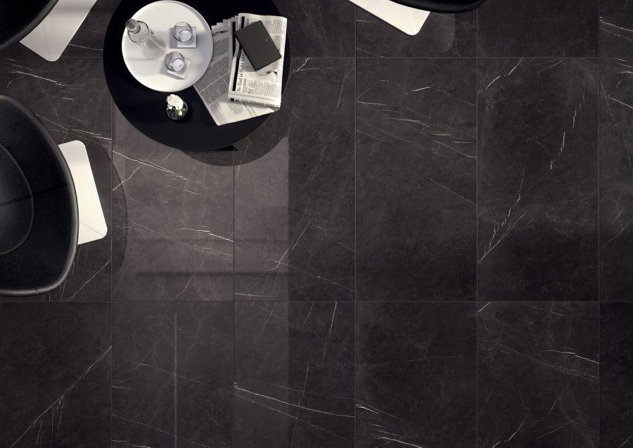 Marca Corona Deluxe barna márvány mintás burkolat