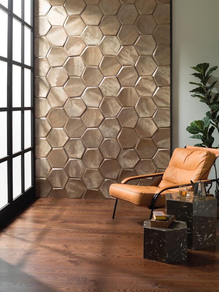 Hatszögletű mozaik nagy méretű