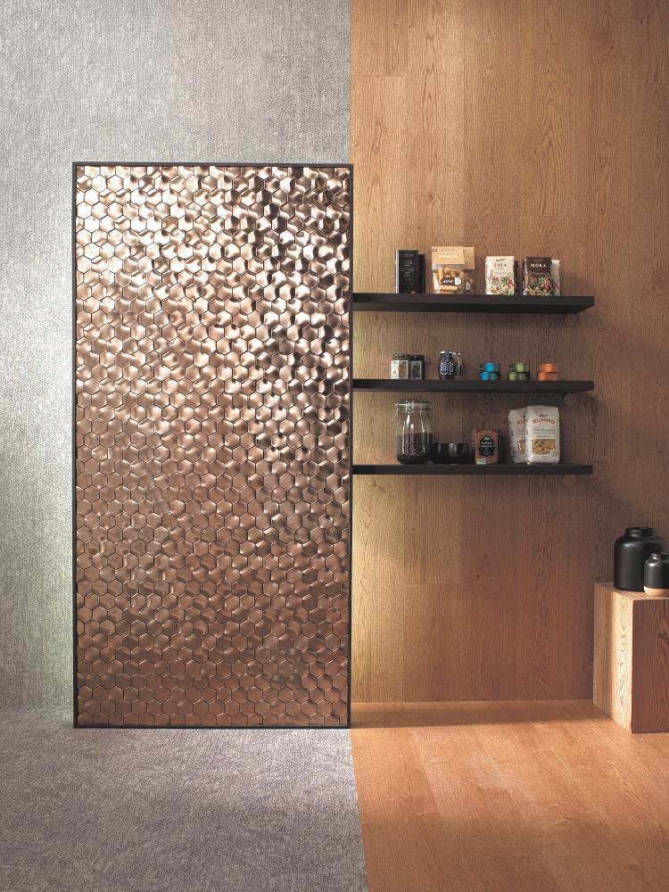 Mozaik mint dekorpanel