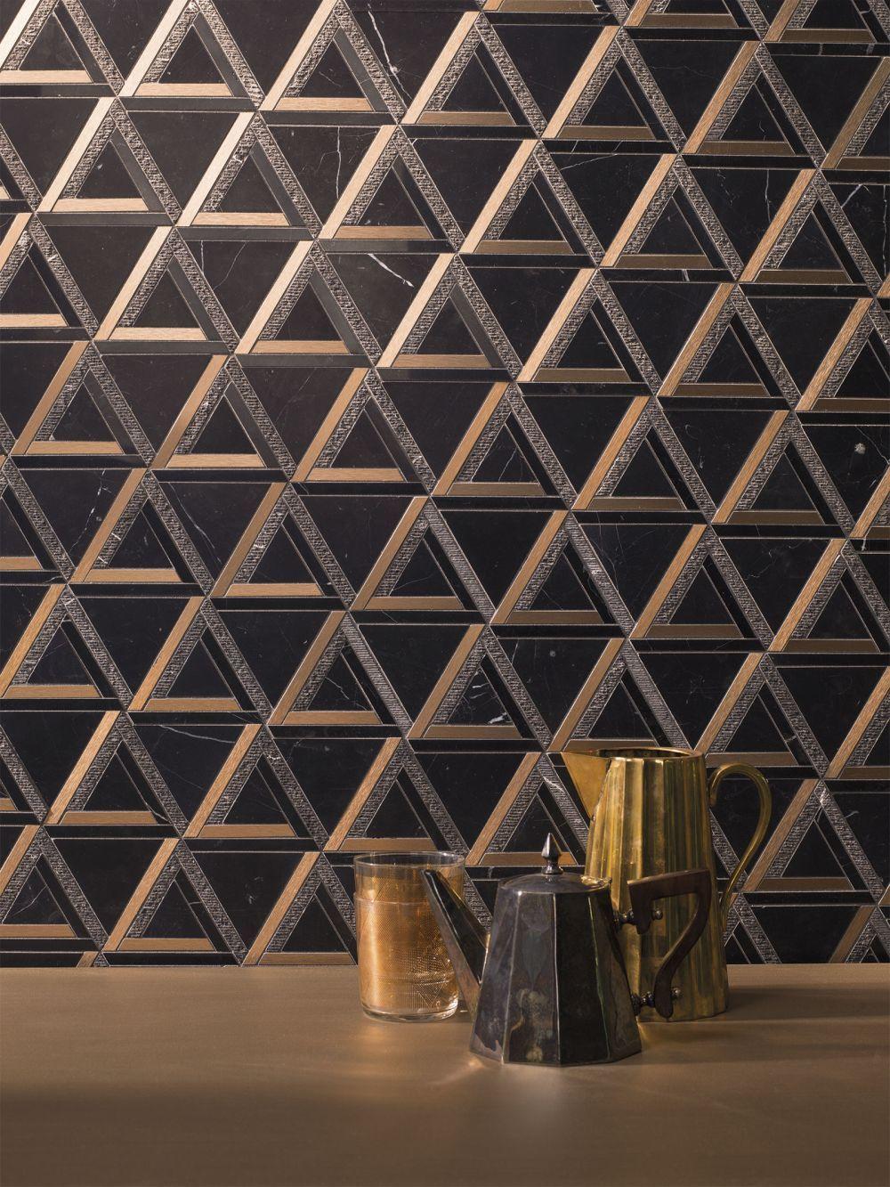 Háromszög mintás mozaik