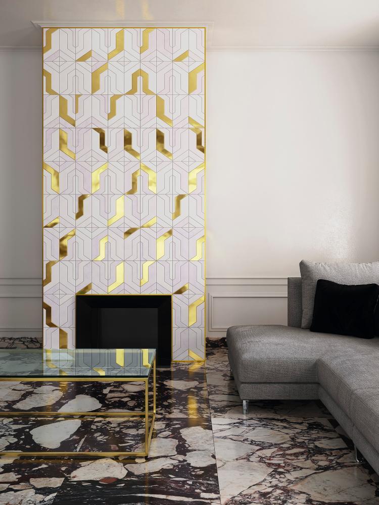 Arany betétes mozaik Lantic Colonial