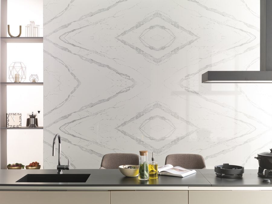 Tükröződő minta Bookmatch Baltic Porcelanosa