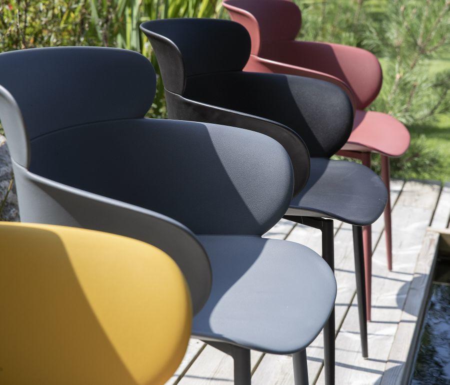 Műanyag kerti székek 4 színben