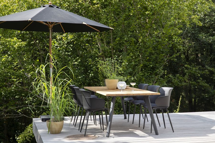 Napernyős kerti vagy terasz garnitúra