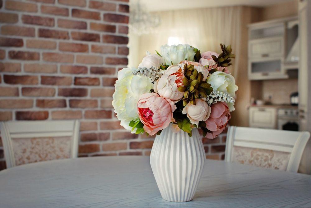 Tavaszi dekoráció virágcsokor
