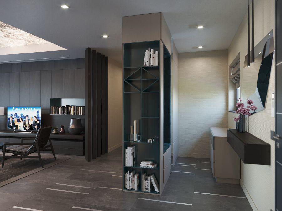 Egyedi tervezésű különleges előszoba bútor