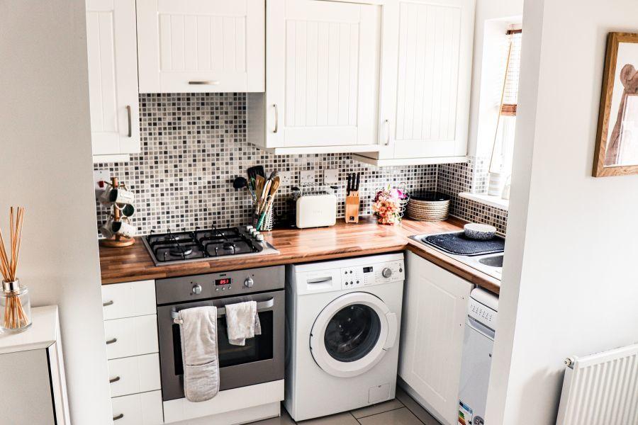 A kicsi konyhában okosan kell bánnunk a térrel