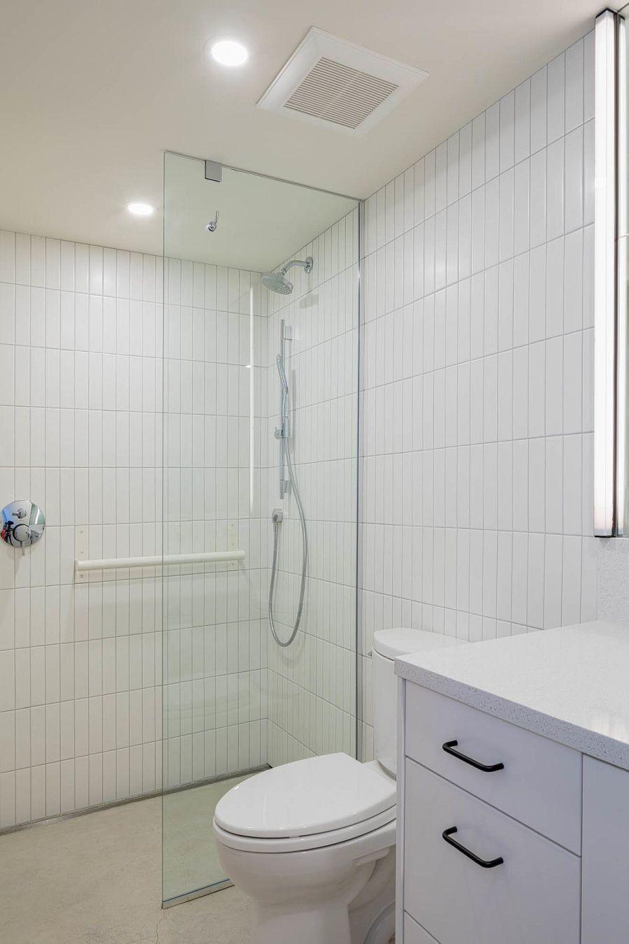 Egyszerű funkcionális fürdőszoba