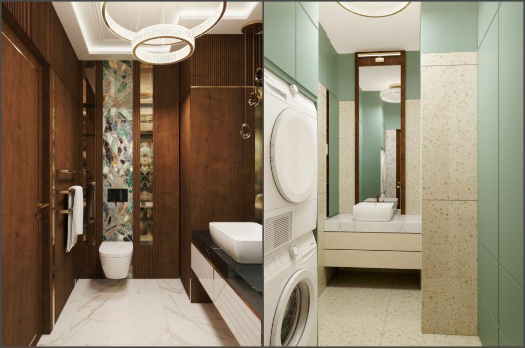 Fürdőszobák egyedi faburkolatokkal