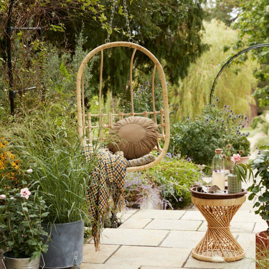 Függőfotel előnyei kertben