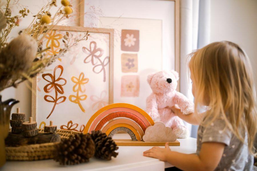 Gyerekszobai dekoráció lakberendezés