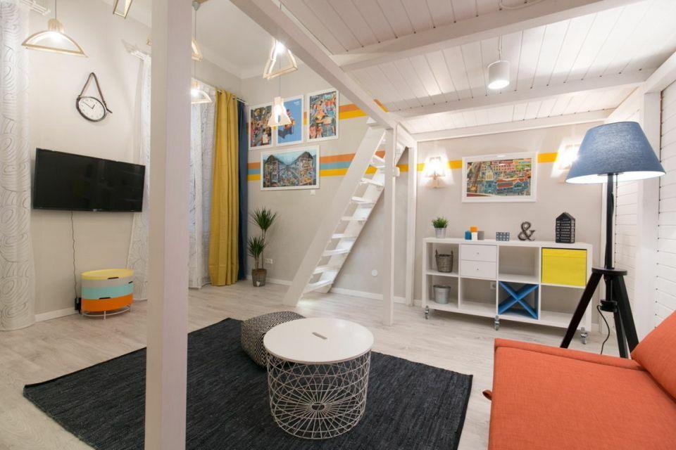 Galériázott budapesti Airbnb lakás