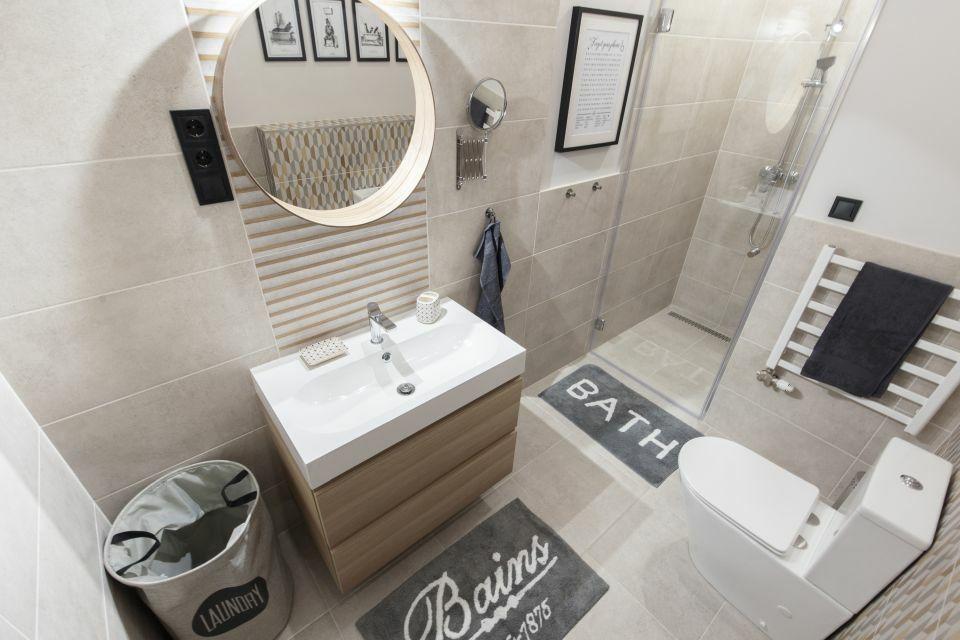 Egyedi tervezésű fürdőszoba Pascal Home Design