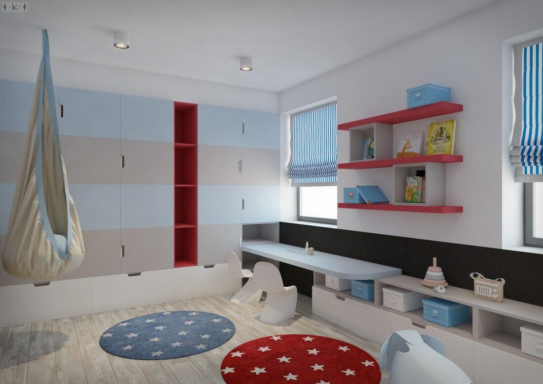 Egyedi tervezésű szekrény ahol sok minden elfér