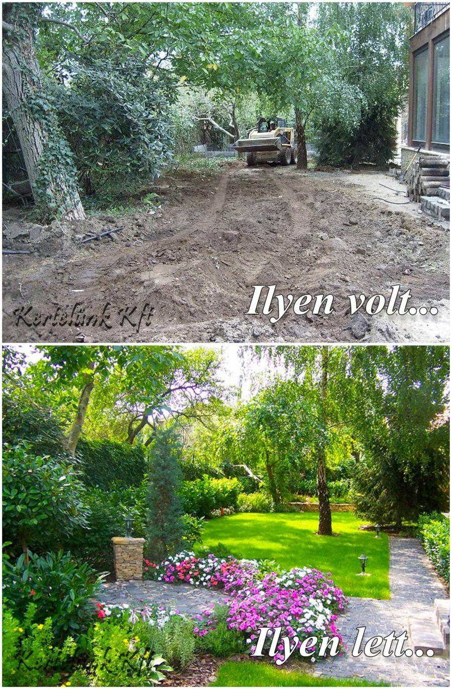 Virágos kert kialakítása - Kertelünk Kft.
