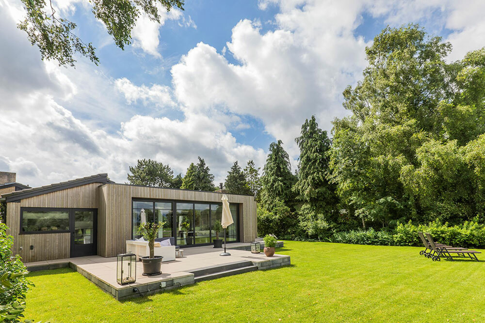 Kertes földszintes családi ház Hollandiából