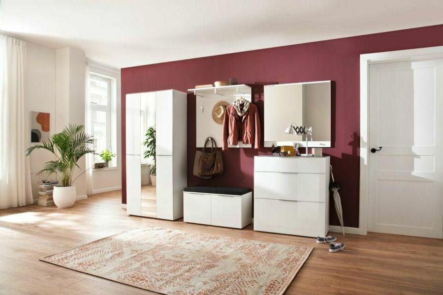 Trend üvegfrontos előszobai bútor