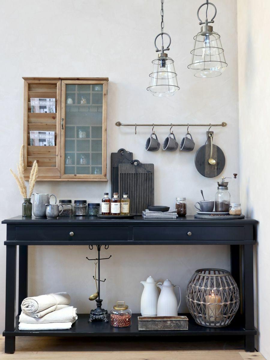 Kék konyhai asztal