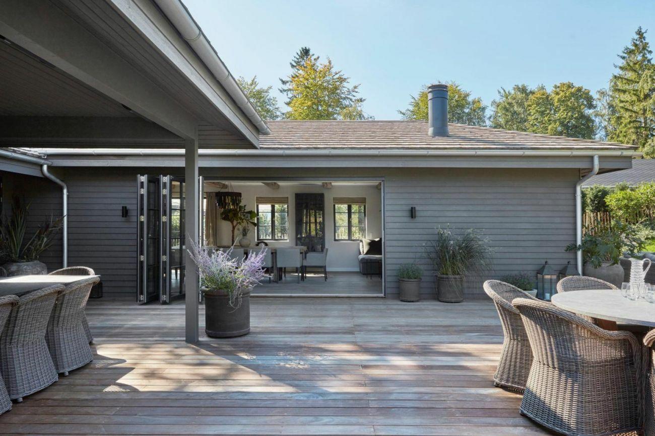 Könnyed átjárás a nappali és a terasz között