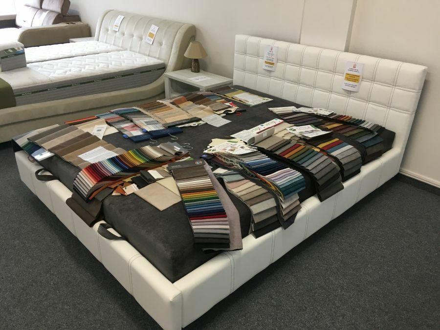 A szövetválaszték egy része - az ágyak számos változatban érhetők el, csak a fantáziánk szabhat határt a lehetőségeknek