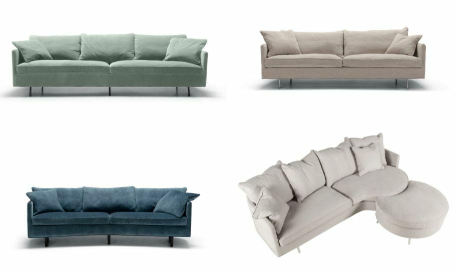 Modern-klasszikus Sits svéd kanapé