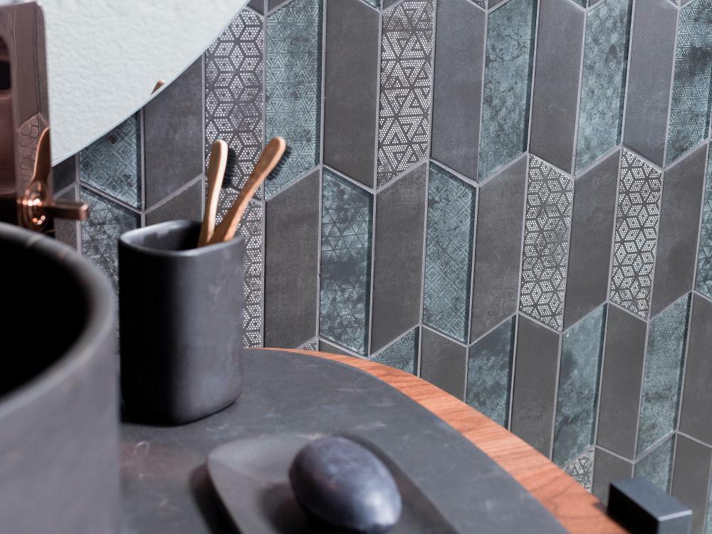 Egyedi textúrák, változatos geometrikus formák