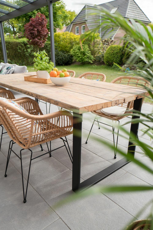 Fonott kerti bútor teraszra